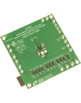 DC2048A LTC3330EUH Nanopower Buck-Boost DC/DC with Energy Harvesting Battery Life Extender