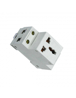 DIN Rail Electrical Socket/Outlet