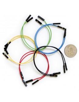 "Jumper Wires Premium 6"" F/F Pack of 10"