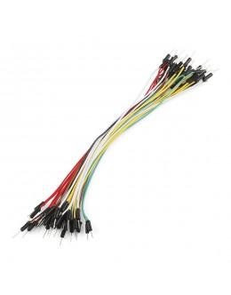 "Jumper Wires Standard 7"" M/M Pack of 30"
