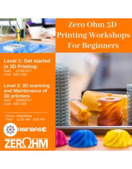 Level 2: 3D Scanning and Maintenance of 3D printers