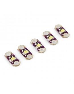 LilyPad LED White (5pcs)