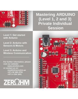 Mastering Arduino - Private Individual Session
