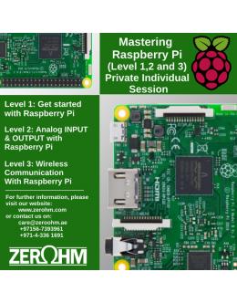 Mastering Raspberry Pi - Private Individual Session