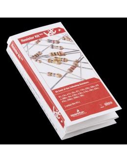 Resistor Kit - 1/4W (20 values, 500 total)
