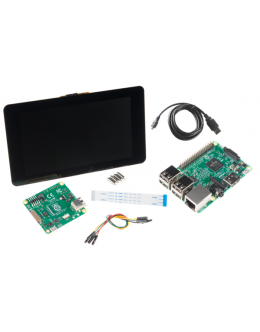 """Raspberry Pi 3 b+ with 7"""" Touchscreen Kit"""
